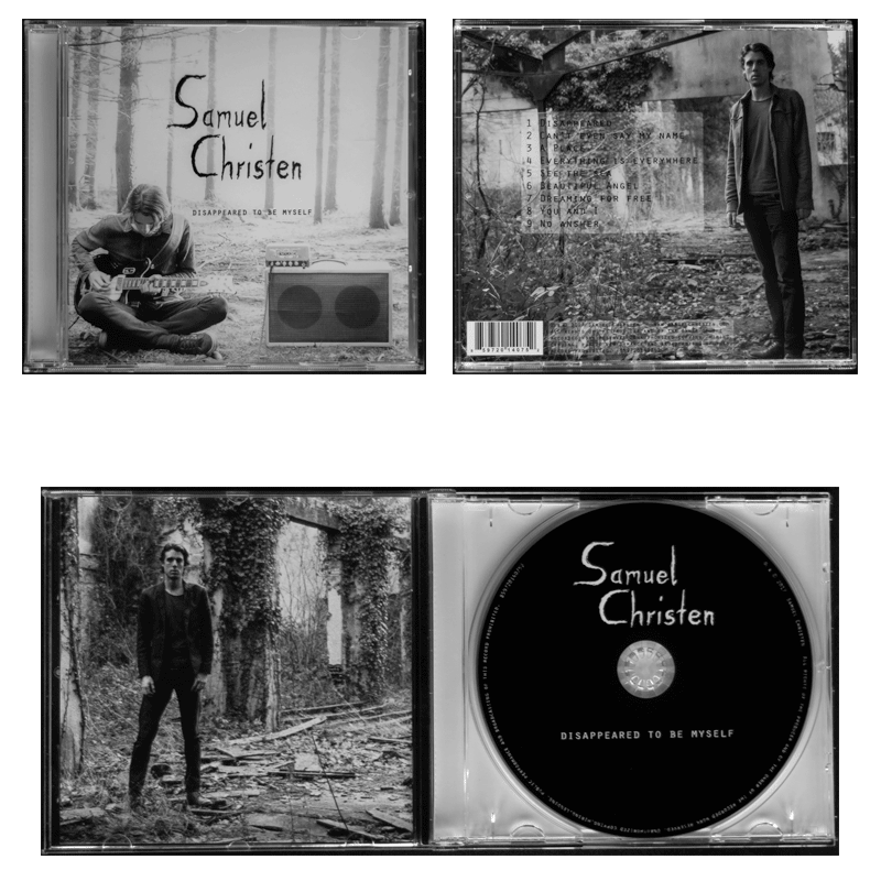 Samuel Christen NEW CD OUT disappeared to be myself
